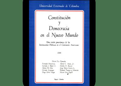 Constitución y Democracia en el Nuevo Mundo: Una visión panorámica de las Instituciones Políticas en el Continente Americano