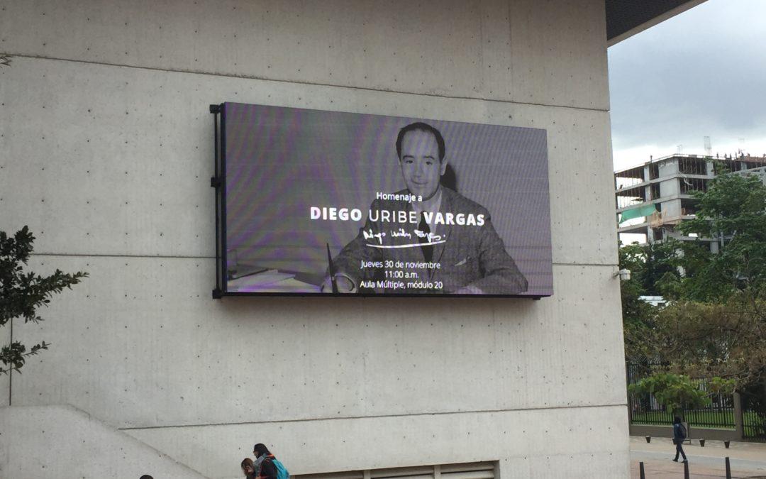 Homenaje a Diego Uribe Vargas