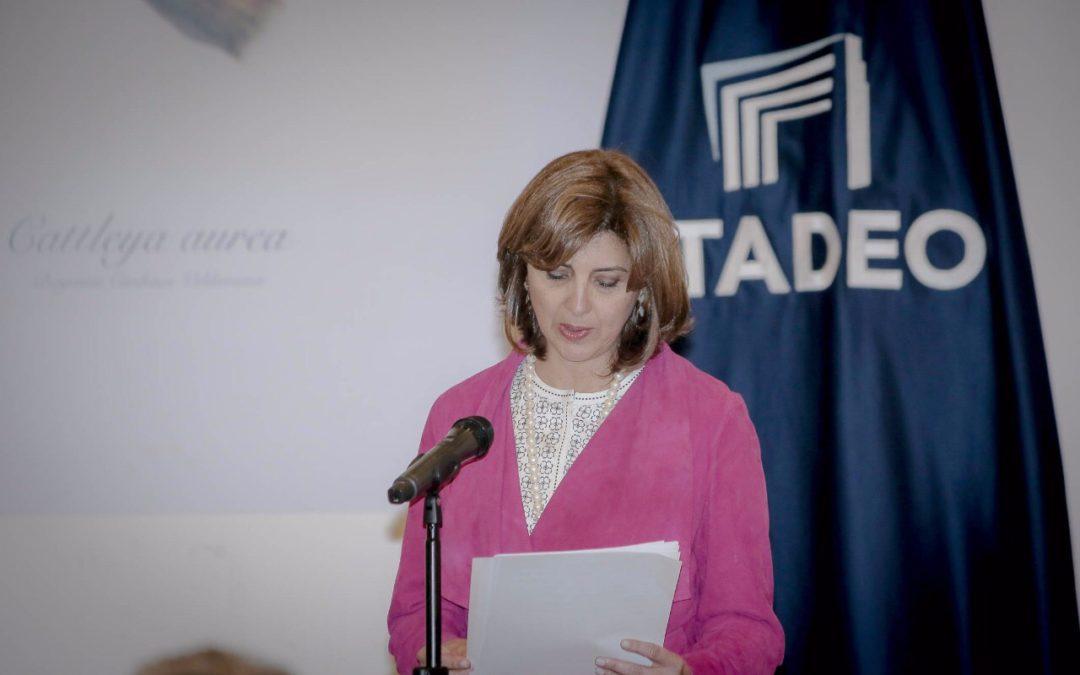 Palabras de la Ministra María Ángela Holguín Cuéllar en el  Homenaje al excanciller Diego Uribe Vargas